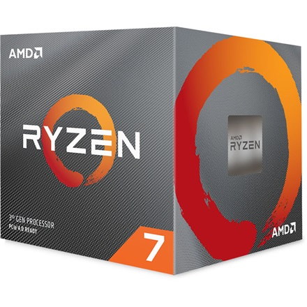 AMD Processzor - Ryzen 7 3700X (3600Mhz 32MBL3 Cache 7nm 65W AM4) BOX