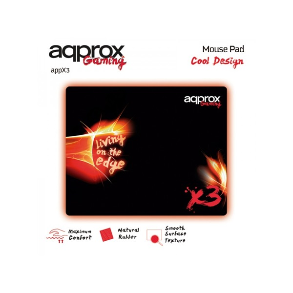 APPROX APPX3 Gaming Textilborítású Egérpad 400*320*3mm