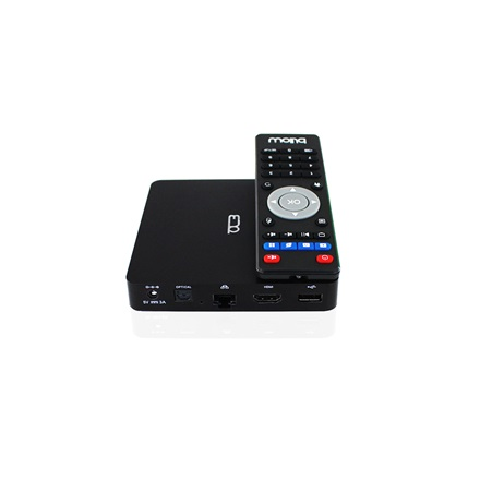 APPROX Billow MD07TV 4K Smart TV box QuadCore1,5Ghz(8GB beépített memória, Android4.4, WiFi, HDMI,BT, 3dbUSB, távkapcs.)
