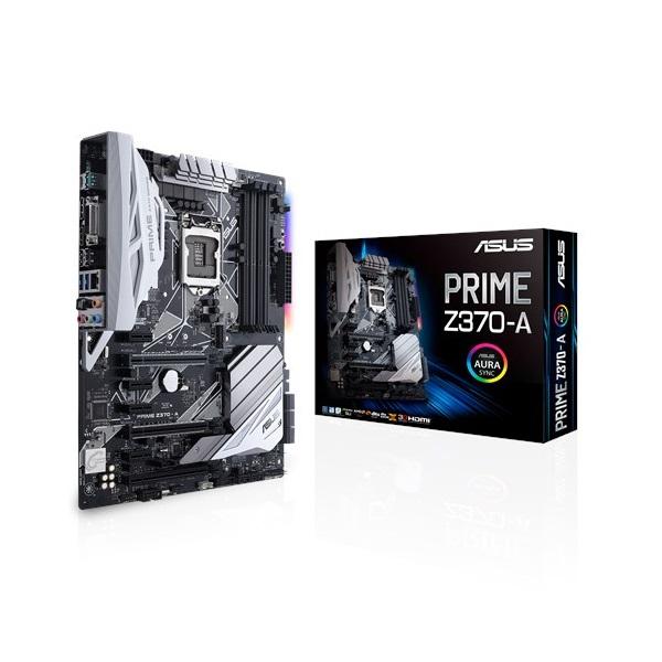 Asus PRIME Z370-A s1151 (Z370, 4xDDR4 2133MHz, 1xGBE LAN, 6xSATA3, 6xUSB2.0, 8xUSB3.1)