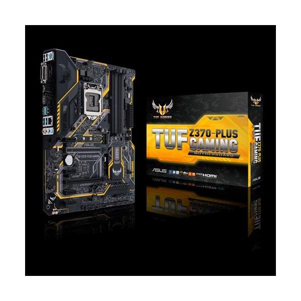 Asus TUF Z370-PLUS GAMING s1151 (Z370, 4xDDR4 2666MHz, 1xGBE LAN, 6xSATA3, 6xUSB2.0, 9xUSB3.1)