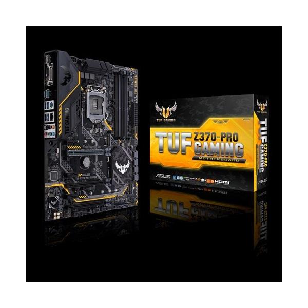 Asus TUF Z370-PRO GAMING s1151 (Z370, 4xDDR4 2666MHz, 1xGBE LAN, 6xSATA3, 6xUSB2.0, 10xUSB3.1)