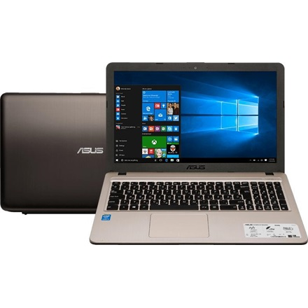 "Asus notebook - X540LA-XX985 (15,6"", i3-5005U, 4GB, 1TB, Intel VGA, DVD-RW, BT, DOS, 3cell, Fekete)"