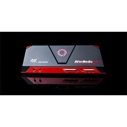 AverMedia Digitalizáló - GC513 Live Gamer Portable 2 PLUS (USB, HDMI2.0  IN-OUT, 4K 2160p60, 1080p60/50/30)