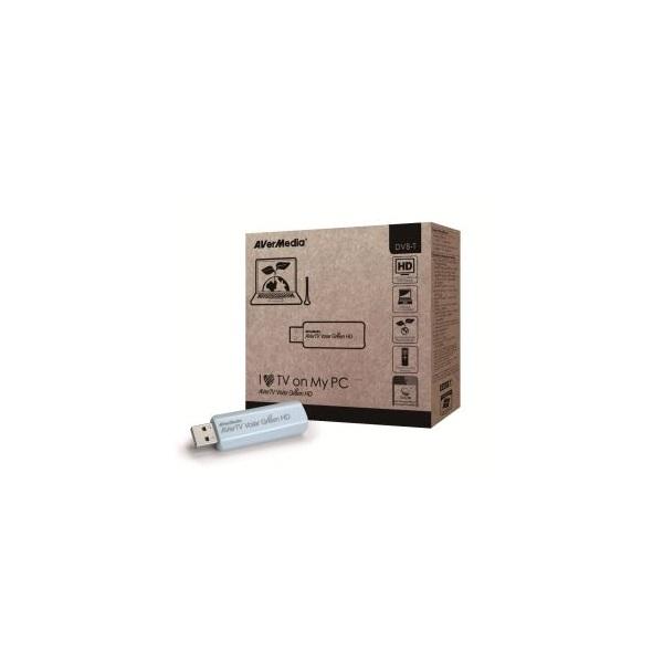 AverMedia Digtális TV Tuner A835 Volar Green HD AVerTV  (DVB-T, USB 2.0, Távirányító)