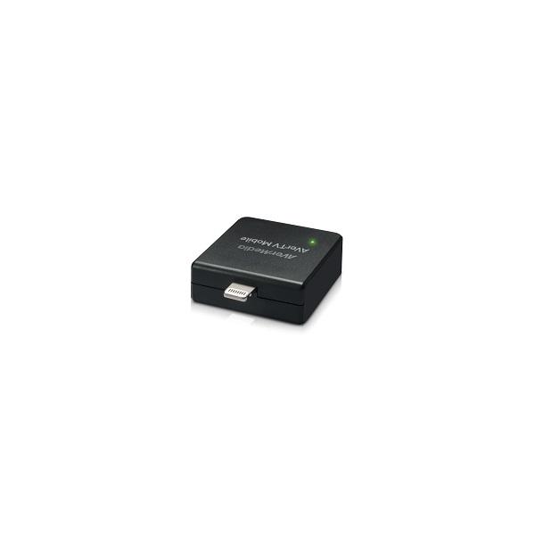 AverMedia Digtális TV Tuner EW330 APPLE okostelefonokhoz, tabletekhez (DVB-T, MindigTV,  Micro USB,