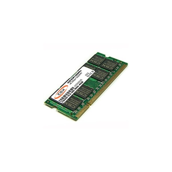 CSX ALPHA Notebook 2GB DDR2 (800Mhz, 128x8) SODIMM memória