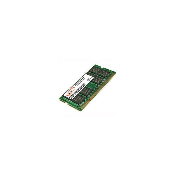 CSX ALPHA Notebook 4GB DDR3 (1333Mhz, 256x8, CL9) SODIMM memória
