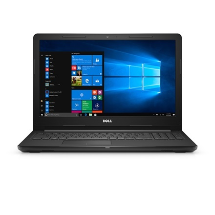 "DELL Inspiron (5256) 3567 15.6"", i3-6006U, Intel VGA, 4GB, 1TB, Win10H, 1.0Mp, 802.11ac+BT,4 cell, fekete"