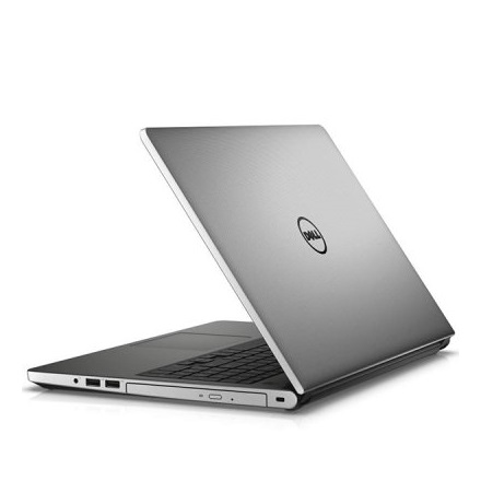 "DELL Inspiron (5528) 5558 15,6""  i3 5005U, IntelVGA, 4GB, 1TB, Win10, DVR, 1.0Mp 802.11n+BT, 4cell,matt ezüst"