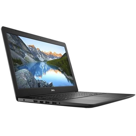"DELL Notebook - Inspiron 3584/1051/ (15,6"" FHD, i3-7020U, 4GB, 128GB SSD, Integrált HD620, 3 cell, Win10H, fekete)"