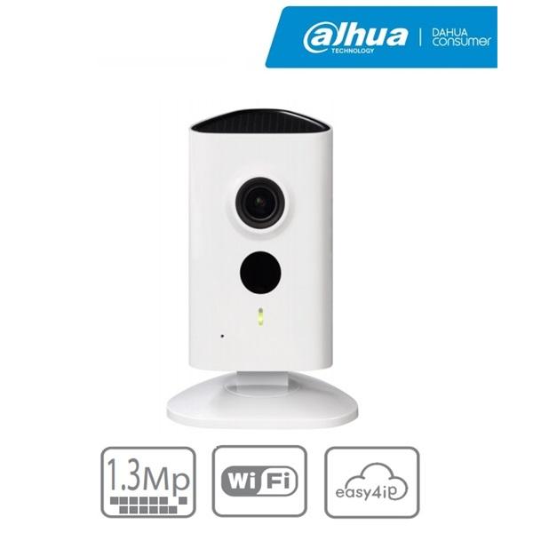 Dahua IPC-C15 IP Cube kamera, beltéri, 1,3MP, 2,3mm, H264, IR10m, D&N(ICR), DWDR, 3DNR, HLC, SD, wif