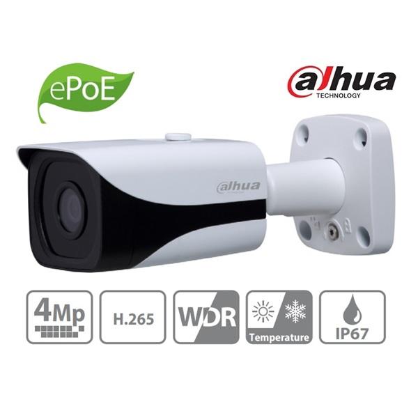 Dahua IPC-HFW4431E-SE IP Bullet kamera, kültéri, 4MP, 3,6mm, H265+, IR40m, D&N(ICR), IP67, WDR, SD,