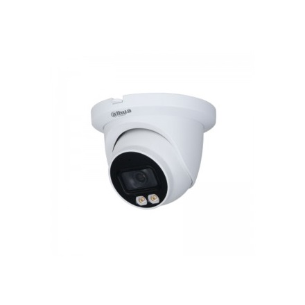 Dahua IP turretkamera - IPC-HDW3249TM-AS-LED (2MP, 2,8mm, kültéri, H265+, IP67, LED30m, ICR, WDR, SD, mikrofon)