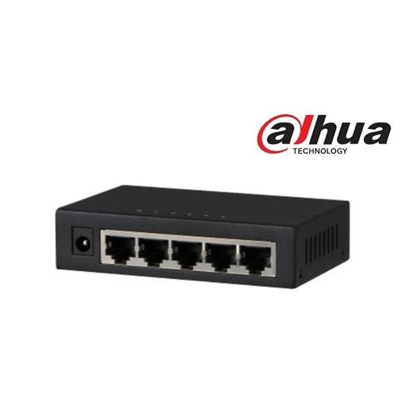 Dahua PFS3005-5GT switch, 5x gigabit port, 5VDC