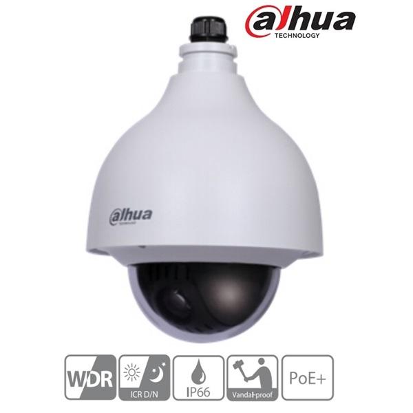 Dahua SD40212T-HN IP Speed dome kamera, 2MP, 12x zoom, H264+, ICR, IP66, WDR, SD, PoE+, I/O, audio,