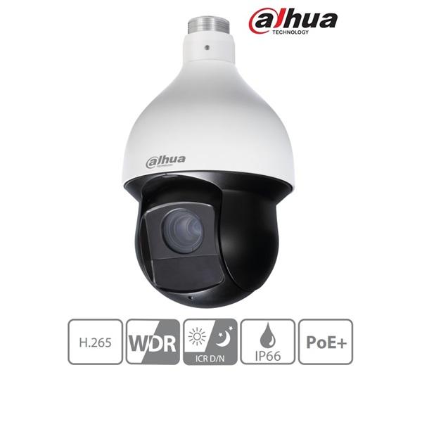 Dahua SD59430U-HNI IP Speed dome kamera, 4MP, 30x zoom, H265, IR100m, ICR, IP66, WDR, SD, PoE+, I/O,