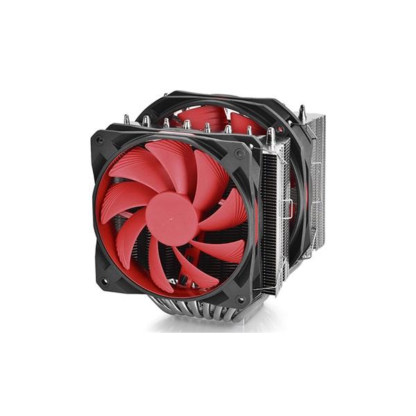 DeepCool CPU Cooler - ASSASSIN II (18,2-27,3dB; max. 119,06 m3/h; 4pin csatlakozó; 8 db heatpipe, 1x