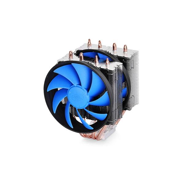DeepCool CPU Cooler - FROSTWIN V2.0 (17,8-21dB; max. 94,29 m3/h; 4pin csatlakozó; 4 db heatpipe, 2x1