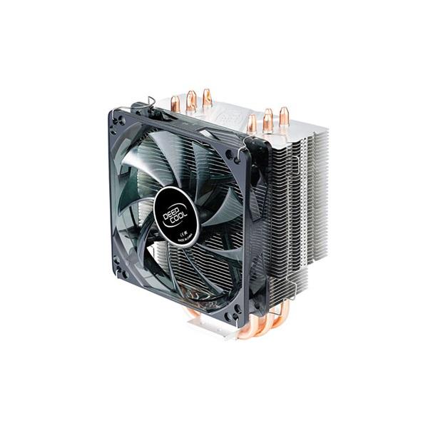 DeepCool CPU Cooler - GAMMAXX 400 (21,4-32,1dB; max. 102,43 m3/h; 4pin csatlakozó; 4 db heatpipe, 12