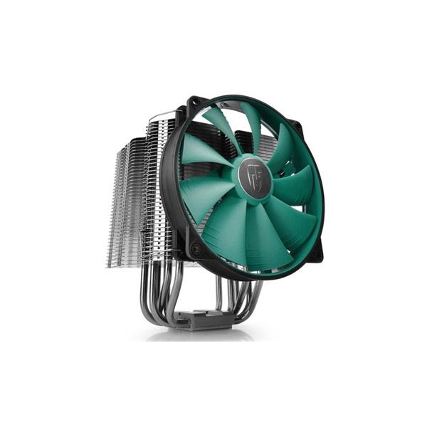 DeepCool CPU Cooler - LUCIFER V2 (12,6-31,1dB; max. 138,18 m3/h; 4pin csatlakozó; 6 db heatpipe, 14c