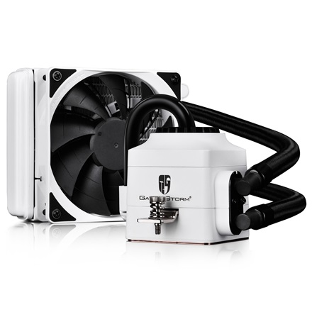 DeepCool CPU Water Cooler - CAPTAIN 120 EX WHITE (17,6-31,3dB; max. 130 m3/h; 12cm)