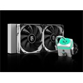 DeepCool CPU Water Cooler - CAPTAIN 240X WHITE (max. 32,1dB; max. 109,41 m3/h; 2x12cm)