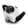 DeepCool CPU Water Cooler - CAPTAIN 240 EX WHITE (17,6-31,3dB; max. 260,01 m3/h; 2x12cm)