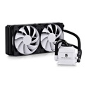 DeepCool CPU Water Cooler - CAPTAIN 240 WHITE (17,6-39,3dB; max. 309,62 m3/h; 2x12cm)