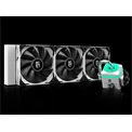 DeepCool CPU Water Cooler - CAPTAIN 360X WHITE (max. 32,1dB; max. 109,41 m3/h; 3x12cm)