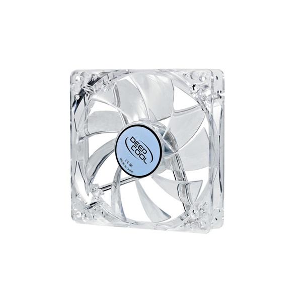 DeepCool Cooler 12cm - XFAN 120 L/B (26dB; max. 75,96 m3/h; 3pin csatlakozó; ház hűtésre, kék LED)