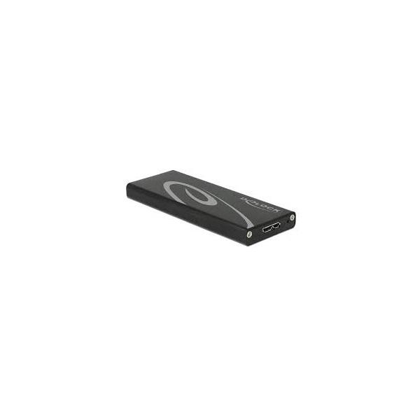 Delock 42570 Külső merevlemezház M.2 SSD > USB 3.1