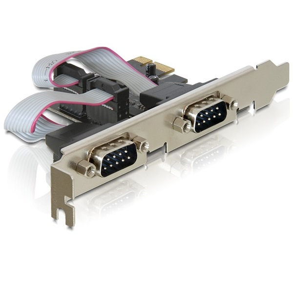 Delock 89220 PCI Express > 2 x Serial