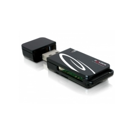 Delock 91667 USB 2.0 CardReader 18 in 1