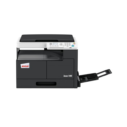 Develop Ineo 185 A3 3 in 1 MFP (18ppm/A4, 9ppm/A3, 600x600dpi, GDI, 32MB, 250 lap, USB)