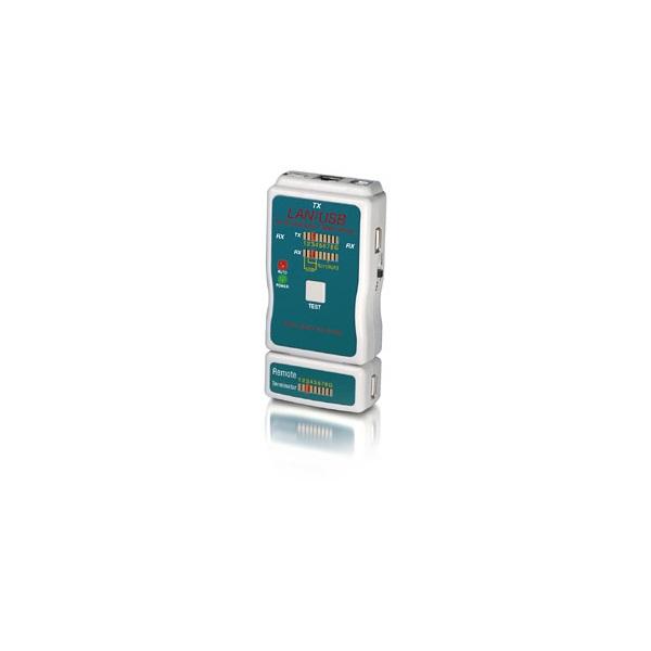 Equip 129964 Kábelteszter USB, RJ11/12/45-höz