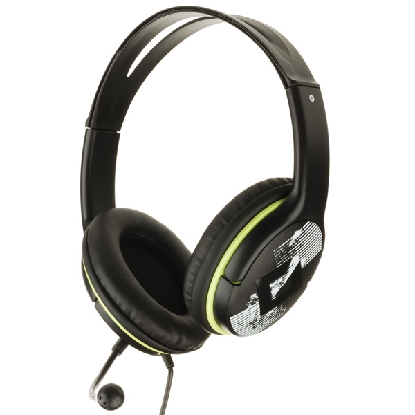 Genius HS-400A Fejhallgató Zöld (mikrofon)