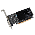 Gigabyte PCI-E Nvidia GTX 1030 Low Profile (2048MB, DDR5, 64bit, 1227/6008Mhz, DVI, HDMI, Single Slot Ventilátor)