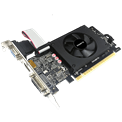 Gigabyte Videókártya - nVidia GT710 (2048MB GDDR5, 64bit, 954/5010MHz, VGA, DVI, HDMI, Single Slot, Low Profile)