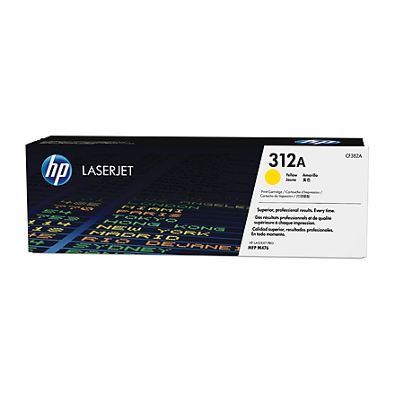 HP CF382A 312A Yellow toner