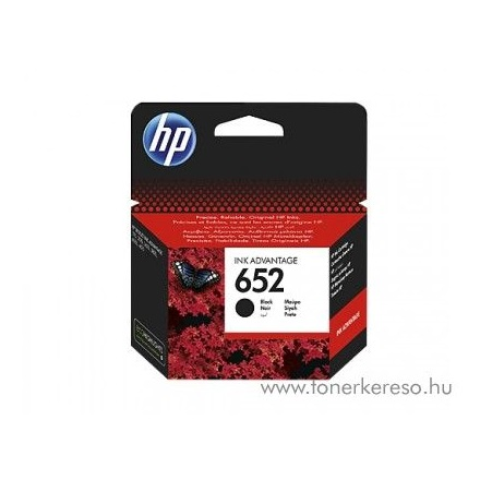 HP Patron - F6V25AE No.652 (Fekete, 6ml)