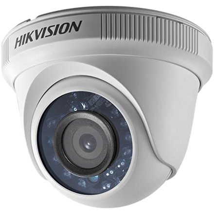 Hikvision 4in1 Analóg turretkamera - DS-2CE56D0T-IRF (2MP, 2,8mm, kültéri, IR20m, D&N(ICR), IP66, DNR)