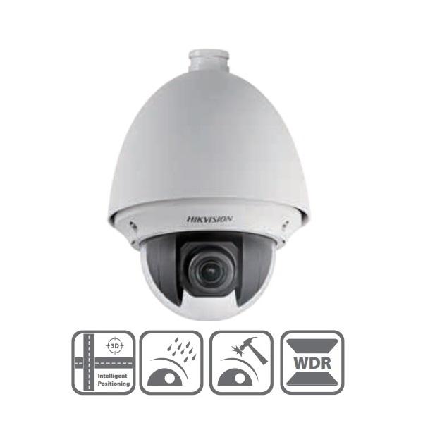 Hikvision DS-2AE4123T-A HD-TVI Speed dome kamera, kültéri, 720P, 4-92mm, D&N(ICR), IP66, BLC, 3DNR,