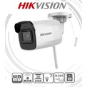 Hikvision IP csőkamera - DS-2CD2021G1-IDW1 (2MP, 2,8mm, kültéri, H265+, IP66, IR30m, ICR, DWDR, SD, audio, wifi)