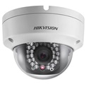 Hikvision DS-2CD2110F-I IP Dome kamera, kültéri, 1,3MP, 6mm, H264, IP66, IR30m, D&N(ICR), 3DNR, DWDR,SD, PoE, vand