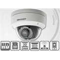 Hikvision DS-2CD2142FWD-IS IP Dome kamera, kültéri, 4MP,4mm, H264+, IP66,IR30m, D&N(ICR), WDR, 3DNR, PoE, SD, I/O, audio
