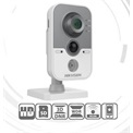 Hikvision DS-2CD2442FWD-IW IP Cube kamera, beltéri, 4MP, 2,8mm, IR10m, D&N (ICR), DWDR, 3DNR, PoE, SD, Wifi