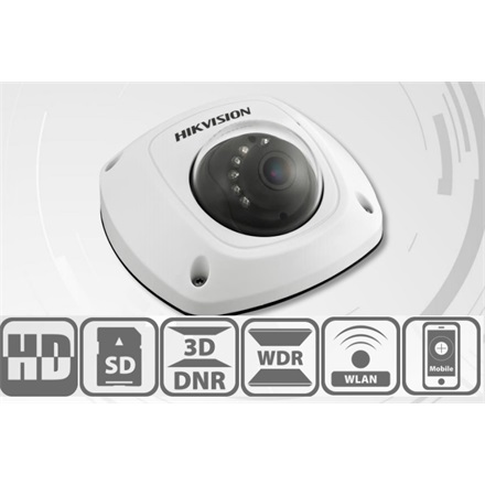 Hikvision DS-2CD2542FWD-I IP Dome kamera, kültéri, 4MP, 2,8mm, H264+, IP66, IR10m, D&N(ICR), WDR, 3DNR, PoE, SD, vandálb