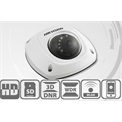 Hikvision DS-2CD2542FWD-I IP Dome kamera, kültéri, 4MP, 4mm, H264+, IP66, IR10m, D&N(ICR), WDR, 3DNR, PoE, SD, vandálbiz