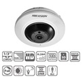 Hikvision DS-2CD2942F-IS IP Fisheye Dome kamera, beltéri, 4MP, 1,6mm, D&N, IR8m, DWDR, 3DNR, PoE, SD, audio